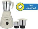 Inalsa Astra LX 550 W Mixer Grinder(White, 3 Jars)