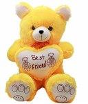 Jumbo Yellow Teddy Bear - 2 Feet