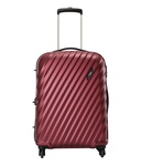 Skybags Red 4 Wheel Hard Trolley-Size Small (Below 60 CM)
