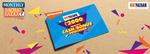 Big Bazaar Monthly Bachat Bazaar: Get Cash/Bonus vouchers worth Rs.2000 on purchase of Rs.2500