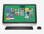 HP 23 r011in All-in-One Desktop (Silver) + Get  Altec Lansing Bluetooth Speaker Free