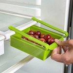Memore Liters Sliding Organizer Rack For Refrigerator (Multicolour, Pack of 1)