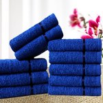 Story@Home Sensational Solid 10 Piece 450 GSM Cotton Face Towel Set - All Colors