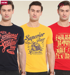 Combo offer- Buy 3 Men T-Shirts