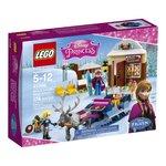 Lego Disney Anna and Kristoffs Sleigh Adventure Building Kit