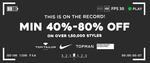 Minimum 40% - 80% off  ON Over 1,50,000 Styles