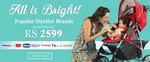 Stroller Brands starting from Rs.2599