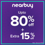 Nearbuy Exclusive :- Flat 15% off for all Users