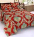 Zesture bring home ws multicolor 100   cotton abstract patterns bedsheet zesture bring home ws multi xzb2bh