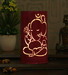 Height of designs pink iron lord ganesha table lamp height of designs pink iron lord ganesha table l kww4p1