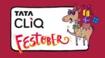 Live Now   TATA CLiQ Festober Sale