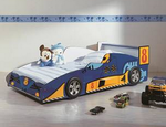 Rover Car Bed in Blue Colour by HomeTown