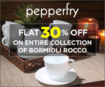 Flat 30% Off on entire collection of Bormioli Rocco