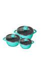 Wonderchef Cookware Ceramide - Set Of 3