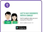 Simply link your bank account and send money to your friends or family & Get 5% Cashback @ Phonepe