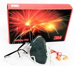 3M Pollution Safety Kit Silver, (Pack of 5)