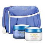 L'Oreal Paris White Perfect Day Cream And Night Cream Pouch - Combo Pack@650 (after cb)