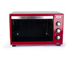 Usha OTG 3642RCSS 42L Oven Toaster Grill (Stainless Steel & Wine)
