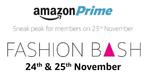 Amazon Fashion Bash 24 - 25 Prime members Only