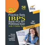20 Practice Sets For Ibps Po Preliminary Exam With 5 Online Tests (2Nd Edition) @ Rs.49