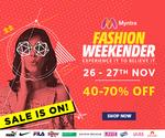 Myntra Fashion Weekender (26th & 27th Nov)