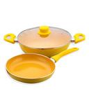 Wonderchef Da Vinci Induction Base Cookware Set of 3 Pcs