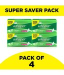 Whisper Ultra Clean XL Wings Sanitary Pads 30 Pcs - Pack of 4