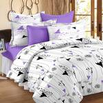 Story@home Satin Floral Double Bedsheet