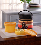 Tupperware Junior Rocker Plastic Lunch Box with Insulated Bag - Set of 2
