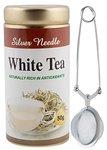 TeaRaja - Silver Needle White Tea 50 Gm (FREE TEA INFUSER)