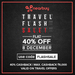 Get 40% cashback on Travel Deal