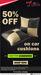 M2ALL:- Get 50% Off On Car Cushions