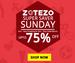 Zotezo Super Saver Sunday: Upto 75% Off