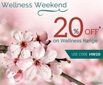 Save 20% on the Himalaya wellness range