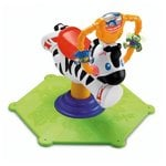 Fisher Price Bounce and Spin Zebra, Multi Color