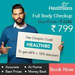 Healthians Full body checkup