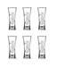 Carlsberg Club Glasses- Pack of 6