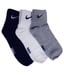 Nike Multi Casual Ankle Length Socks