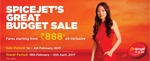 Spicejet fares starting at 888 + 1250 Extra discount through Yatra + 50%(Max 3000) OFF on Hotels