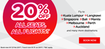 Air Asia - Flat 20% Off on Flights Booking