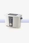 Black & Decker ET122 2 Slice Pop-Up Toaster (White)