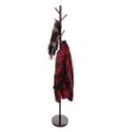 Tiara 7 Peg Iron Black Cloth Hanger
