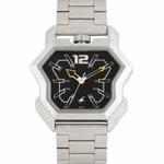 Fastrack Men Black Dial Watch 3125SM02