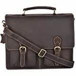 Panther Black Messenger Laptop Bag+Free Shipping