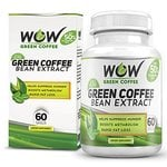 Wow Green Coffee Weight Management Supplement with 800 mg GCA - 60 Capsules (Pack of 1)