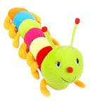 Snapdeal - Kashish Toys Multicolor Caterpillar Soft Toy - 55cm