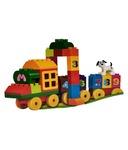 Snapdeal - Construcion Plastic Train Set (63 Pcs Block Number)