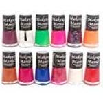 Makeup Mania Exclusive Nail Polish Set of 12 Pcs (Multicolor Set)
