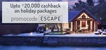 Up to Rs.20000 Cashback on Holiday Packages