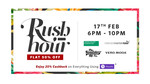 Myntra Rush Hour Sale + Extra 25% instant cashback using Phonepe Wallet- From 6PM-10PM
